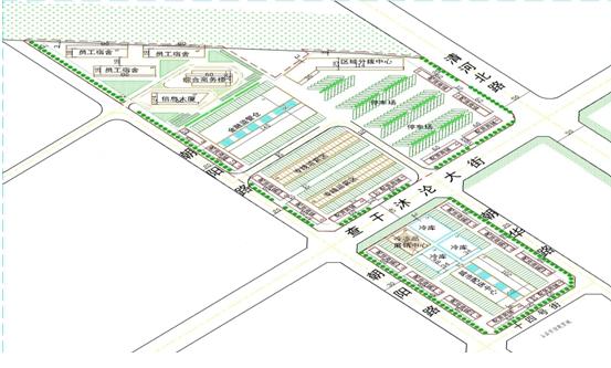 赤峰好运来物流园区修建性详细规划项目